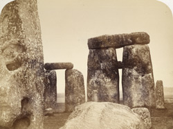 Stonehenge, Trilithons E And C And Part Of Outer Circle